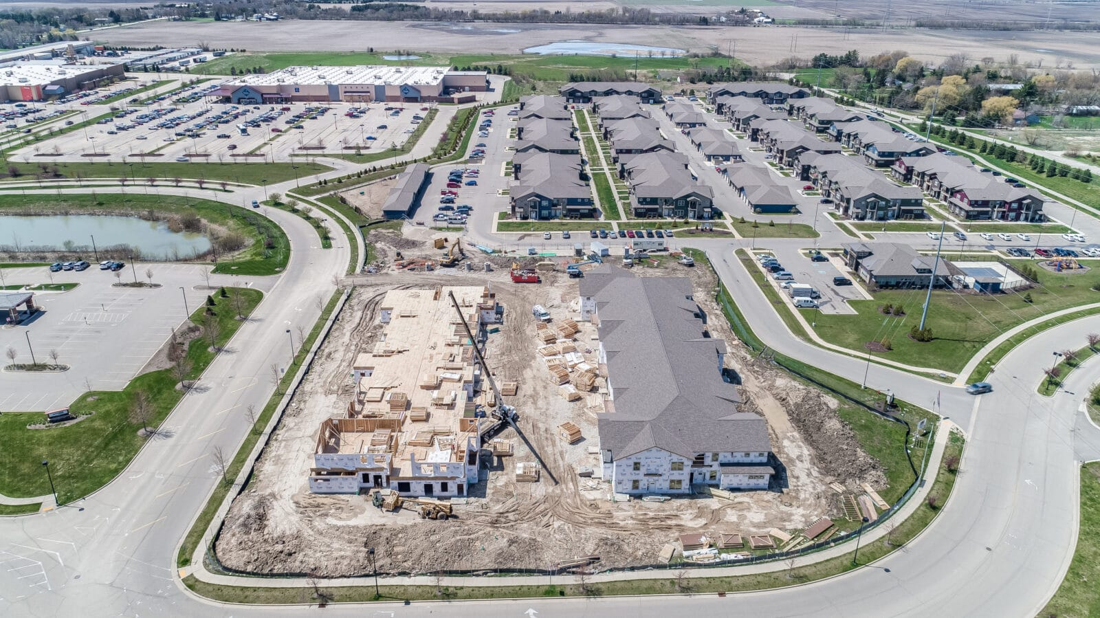 market square apartments, construction management associates, general contractors