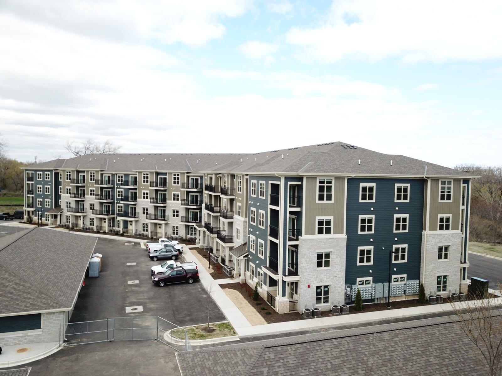 construction management associates, general contractors, Pike Ridge Apartments & Townhomes