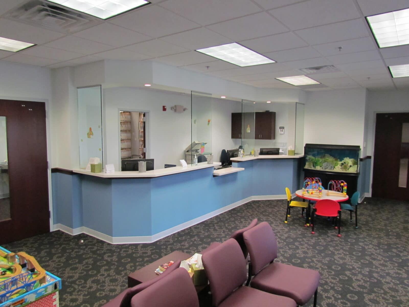 lakeside pediatrics expansion, construction management associates, general contractors