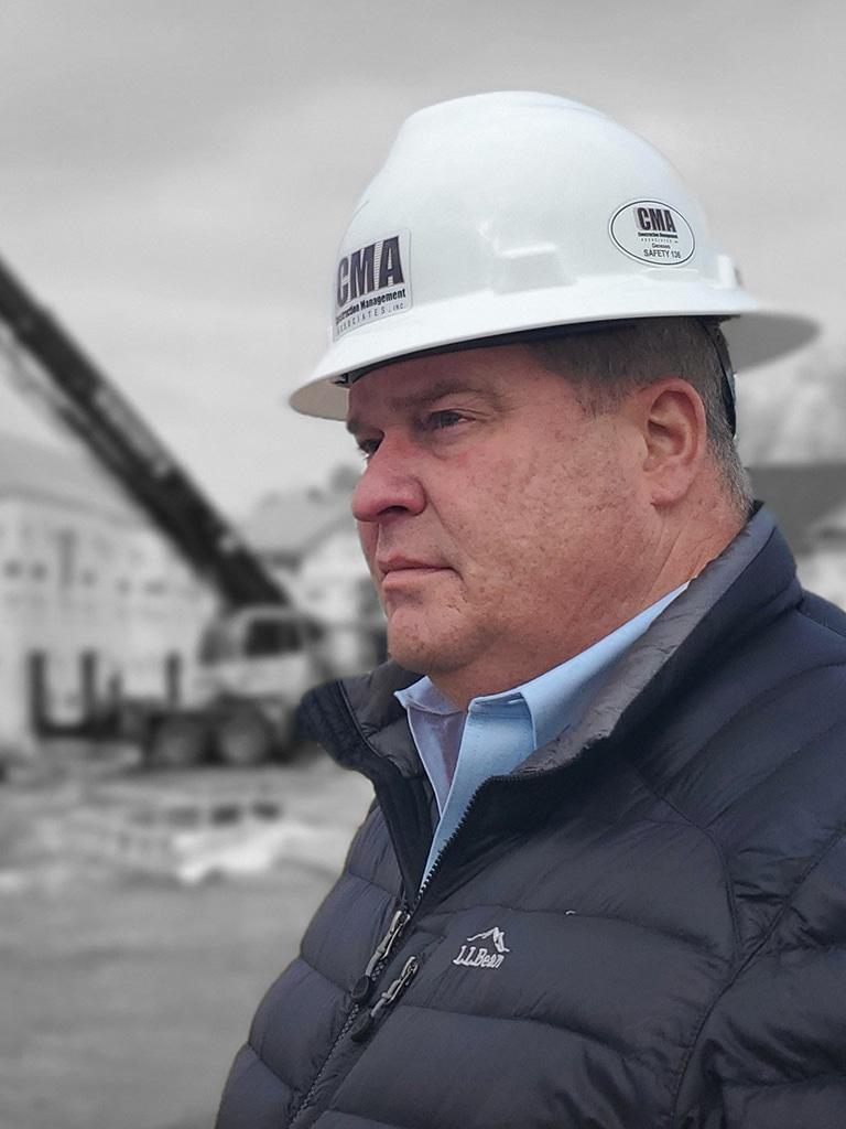 jeff harwood, construction management associates, general contractors