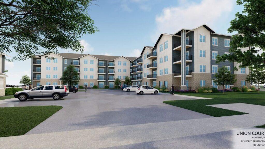 union court senior apartments, construction management associates