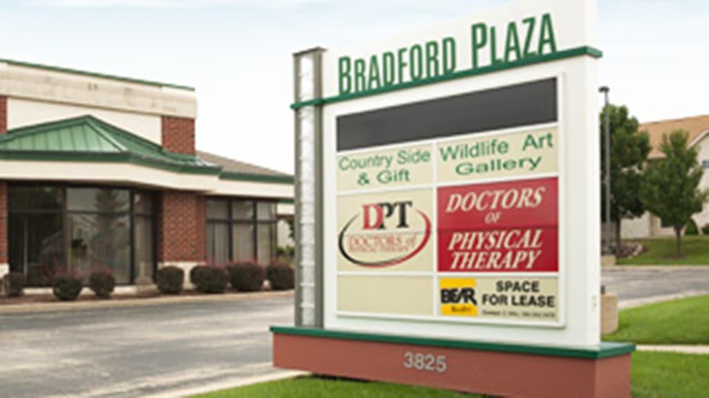 construction management associates, general contractors, bradford plaza